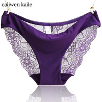 Lace Panties Seamless Cotton Breathable Panty