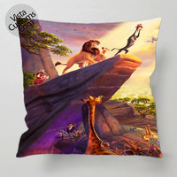 Hakuna Matata Lion King Disney pillow case, cover ( 1 or 2 Side Print With Size 16, 18, 20, 26, 30, 36 inch )