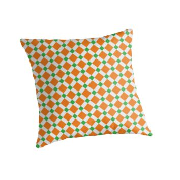 'Colors Of Ireland' Throw Pillow by Dizzydot