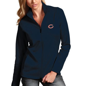 Chicago Bears Youth Midweight Reversible Full Zip Jacket - Black