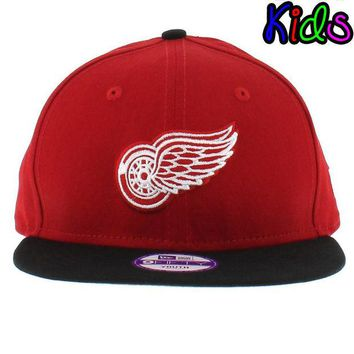 ONETOW NHL Detroit Red Wings Youth 2Tone Basic 9FIFTY Snapback Hat