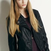 Clean Biker Jacket - Biker & Bomber Jackets - Jackets  - Clothing