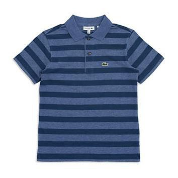 Lacoste Boys 8-20 Striped Polo