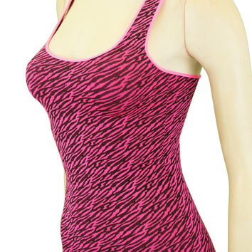 CLEARANCE! Hot Zebra Tank Top (9 Colors Available)