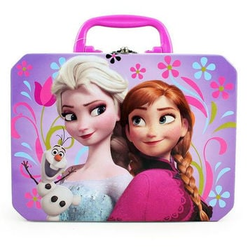 Disney Frozen Tin Lunch Box [Anna, Elsa and Olaf]