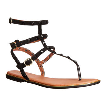 Front Row Seat Studded Gladiator Sandals