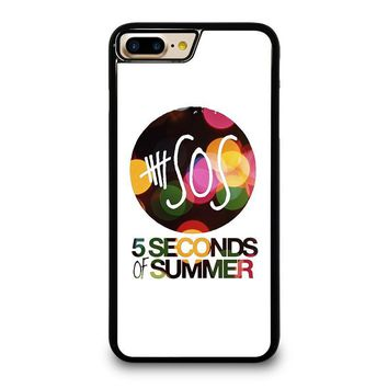 5 SECONDS OF SUMMER 5 5SOS iPhone 4/4S 5/5S/SE 5C 6/6S 7 8 Plus X Case
