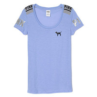 Fitted Scoop Tee - PINK - Victoria's Secret