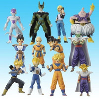 Bandai Dragon Ball Z Super Modeling Soul Of Hyper Figuration Part Best Selection 12 Color Figure Set