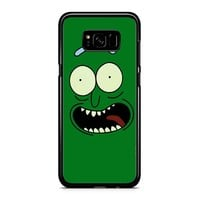 Pickle Rick And Morty Face 11 Samsung Galaxy S8 Case