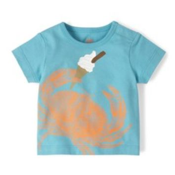Seaside Animal Print T-shirt