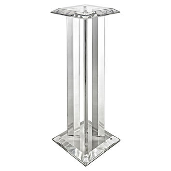 Icicle Pedestal, Clear, Acrylic / Lucite, Architectural Columns, Pedestals & Fragments