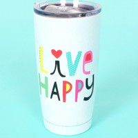 Live Happy Tumbler | Monday Dress Boutique