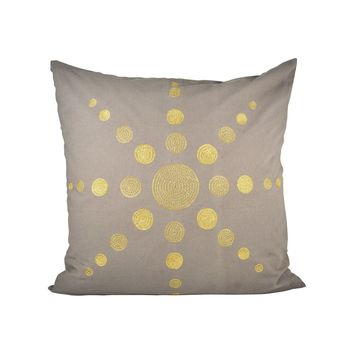 Andor 24x24 Pillow Chateau Graye,Gold