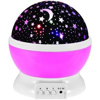 Autorotation LED  Babysbreath Starry Sky Night Light
