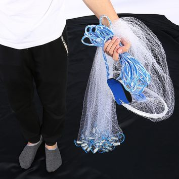 Lead Sinkers Hand Throwing Casting Round Fishing Net