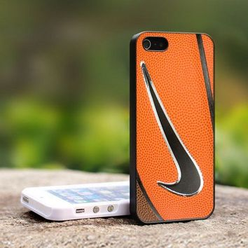 Nike Basketball Logo - For iPhone 5 Black Case Cover