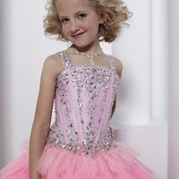Pageant Dresses |Tiffany Princess 13317 | Little Girl's Pageant Dress | Little Girl's Party Dress | GownGarden.com