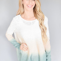 Spring Sunrise Ombre Top