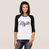 Mystic customizable funny elegant T-Shirt