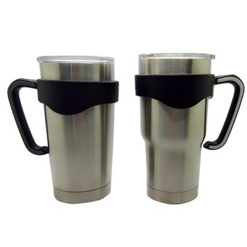 30 Oz Stainless Steel Insulated Tumbler Mug Handle