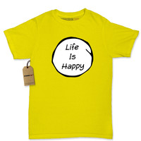 Life Is Happy Womens T-shirt