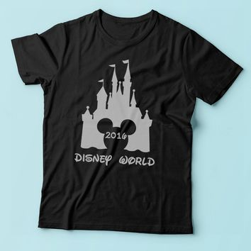 Family Matching Disney For 2016 Disney World Disney Men'S T Shirt