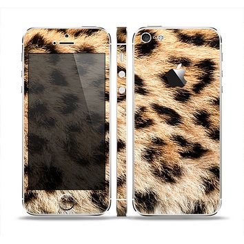 The Real Cheetah Animal Print Skin Set for the Apple iPhone 5