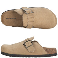 Womens - Airwalk - Women's Abby Faux Suede Clog - Payless Shoes