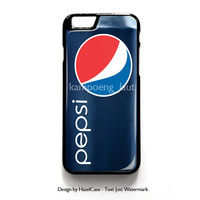 Funny Pepsi Blue Can for iPhone 4 4S 5 5S 5C 6 6 Plus , iPod Touch 4 5  , Samsung Galaxy S3 S4 S5 Note 3 Note 4 , and HTC One X M7 M8 Case Cover
