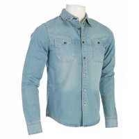 Long Sleeve Denim Button Front Top 470763063 | Shirts | Young Mens | Men | Burlington Coat Factory