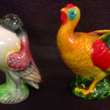 Guinnie Salt and Pepper Shakers, Bird Salt and Pepper Shakers, Salt and Pepper Shakers, Made in Japan  (1230)