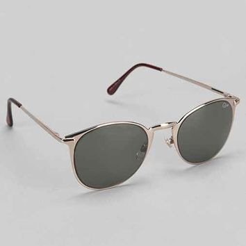 Quay Bailey Round Sunglasses- Green One