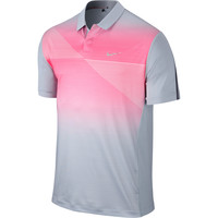 Tiger Woods Collection Men's TW Seasonal Bold Stripe Short Sleeve Polo at Golf Galaxy