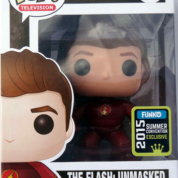 SDCC 2015 Exclusive TV Flash Unmasked Pop Vinyl Figure