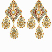 Multi Colored Chandelier Earrings | Calypso St. Barth