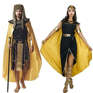 halloween costume for adult Egyptian Queen Cleopatra Greek Goddess Toga Book Day