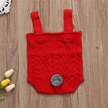 New Style Baby Bunny Rompers Baby Girls Knitted Baby Jumpsuit Newborn Clothing Baby Boy Clothes