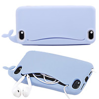Kawaii Whale iPhone Case