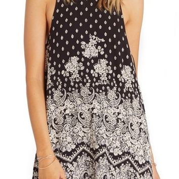 Billabong Wild Sun Animal Print Shift Dress | Nordstrom