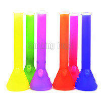 """smoking dogo 2015 latest colorful super heavy g spot agung glass bong oil rig glass water bongs glass pipe height approximate 17.5"""""""