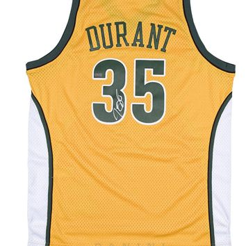 Kevin Durant Signed Autographed Seattle Supersonics Basketball Jersey (Panini COA)