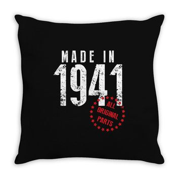 Made In 1941 All Original Parts Throw Pillow