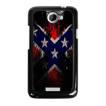 BROWNING REBEL FLAG HTC One X Case Cover