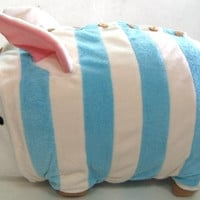 "Capcom Monster Hunter Poogie Pugi Pig 16"" Hupe Plush Doll Figure"