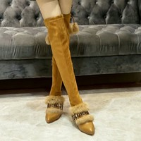Fendi Women Heels Shoes Boots 2019 brown knight boot Winter Best Quality