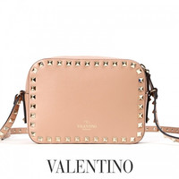 Valentino Garavani Rockstud Camera Crossbody bag