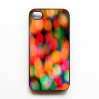 Iphone Case Bokeh Blur Rainbow Colorful by SSCphotographycases