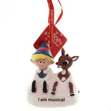 Holiday Ornaments RUDOLPH/HERMEY PILE OF SNOW Red-Nosed Reindeer Dept 56 6002171