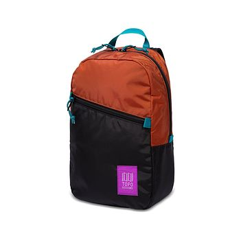 Topo Designs -  Clay Black Unisex Light Backpack